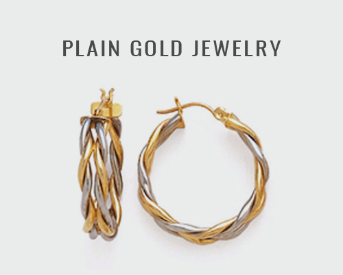 Plain Gold Jewelry