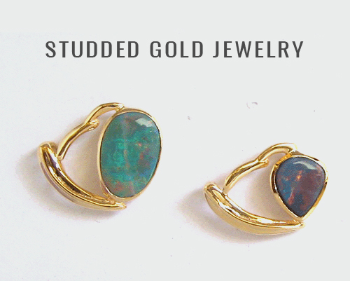 14k Gold Gemstone Jewelry