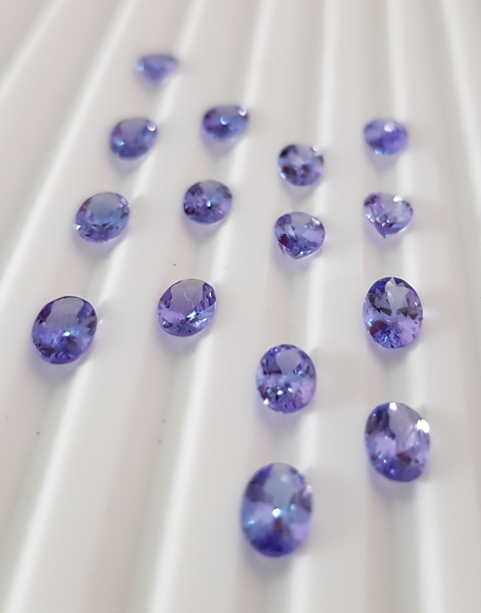 Tanzanite oval cut