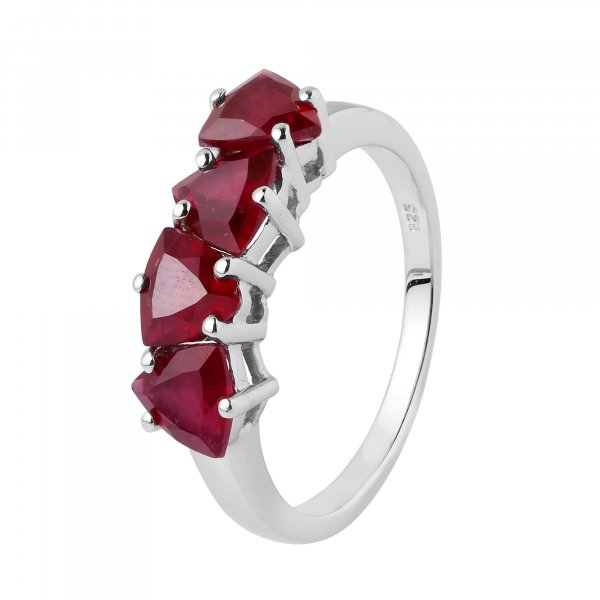 Ruby treated( gf )  ring