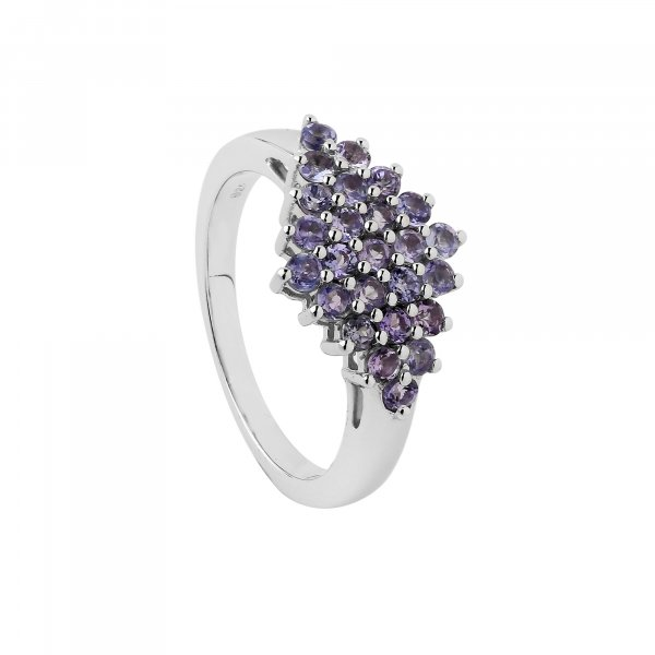Tanzanite 2mm Ring