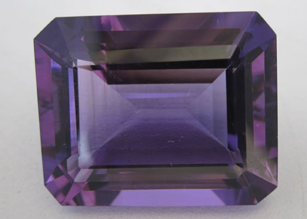 Amethyst Octogan faceted