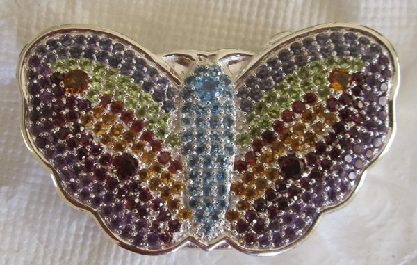 Butterfly pill box