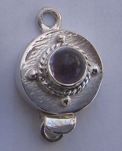 Clasp With Amethyst