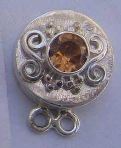 Clasp With Citrine