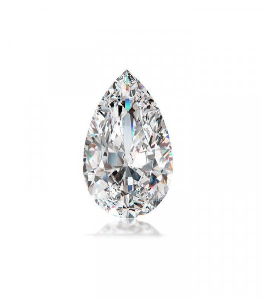 Diamond fancy Pear faceted