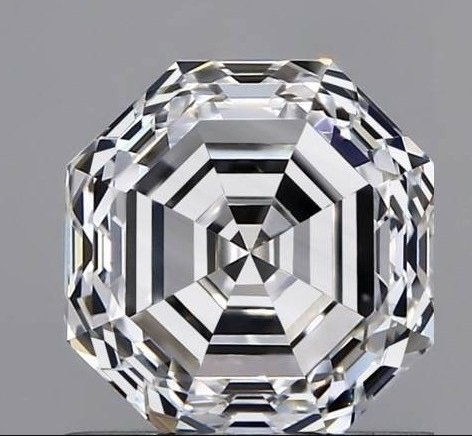 Diamond octogonal  faceted