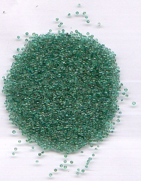 Emerald round cut 1.5mm