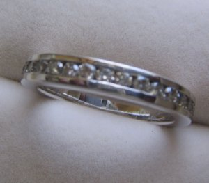 Eternity Ring With Diamond