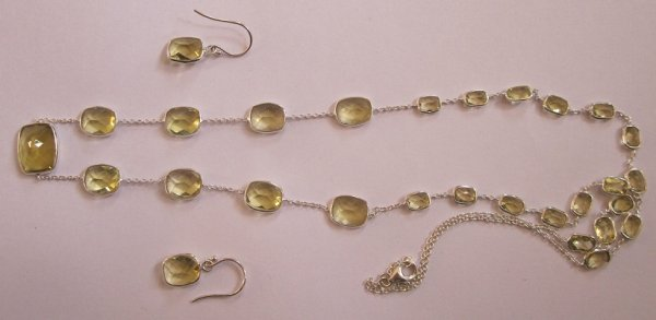 Lemon Quartz Set
