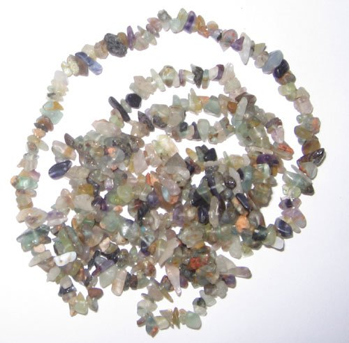 Multi florite chip gem beads
