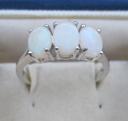 Opal Cab Ring