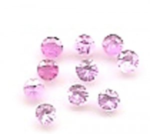 Pink Sapphire Rd. Cut Stone