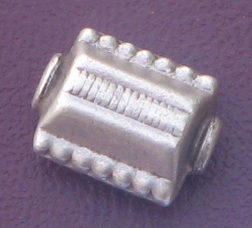 Plain silver beads
