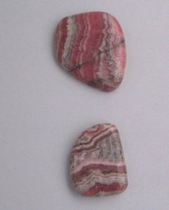 Rhodochrosite fancy shape cabs