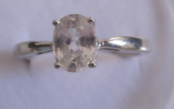 Ring With Zircon
