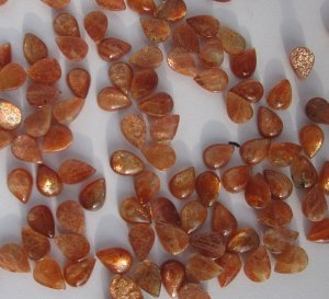 Sunstone pear cab 10x7