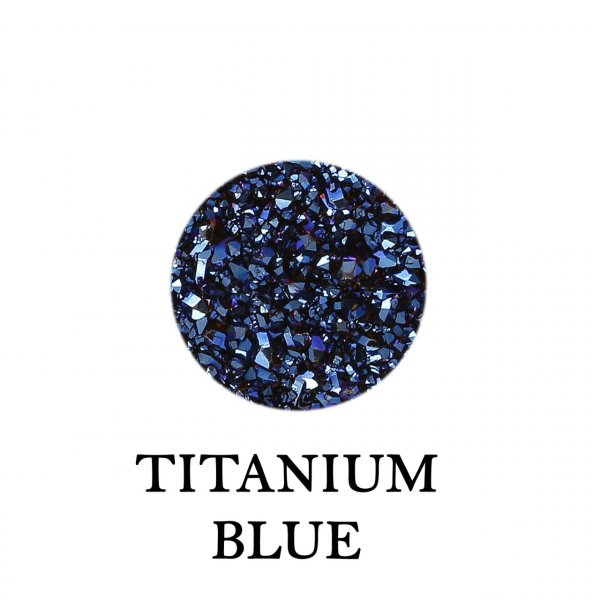 Titanium Blue rd 12mm