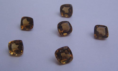 Whisky quartz 8mm fancy onion cut